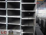 Tubo rectangular negro ERW (Especificaciones: GB / T Q215-235)