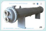 油圧オイルおよび水を冷却するためのシェルそして管の熱交換器