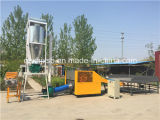 Máquina de estaca da fibra da máquina de estaca de Rags do desperdício da fonte da fábrica