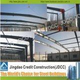 Edifício quadro portal da construção de aço