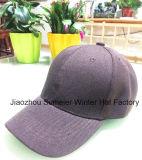 Barato Custom 6 Chapéus em branco do painel Cor Tampas de beisebol esporte opcional