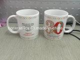Caneca padrão de porcelana de 11 oz, caneca de porcelana, caneca promocional