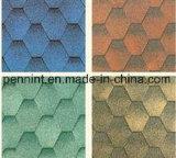 Preiswerte Preis-Mosaik-Asphalt-Fliesen für konkretes Dach