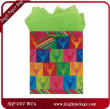 Слоение Grossy бумажных мешков искусствоа кладет новые хозяйственные сумки в мешки бумаги конструкции