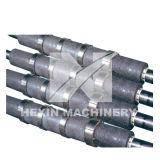 Rolos de transportador de aço inoxidável revestido com fornalha revestida