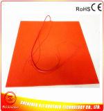 подогреватель силиконовой резины 12V 550W 600*600*1.5 mm для принтера 3D