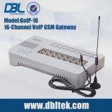 DBL16 schließt G-/Mkommunikationsrechner GoIP16 an den Port an
