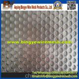 Folhas de alumínio perfuradas/painéis de alumínio decorativos
