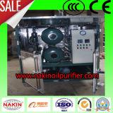 Purificador de petróleo doble del transformador del vacío de las etapas, máquina de la filtración del petróleo