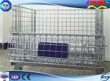 Cestino/gabbia personalizzati di Starage della qualità superiore con le rotelle (SSW-F-004)