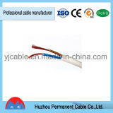 Cable de transmisión de cobre sólido de Elecrtrical de la envoltura del PVC de BVV