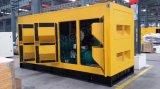 ультра молчком тепловозный генератор 500kw/625kVA с двигателем Shangchai