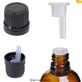Bonés de garrafa de óleo essencial PP18 com redução de orifício