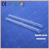 Acero utilizado en la parte posterior del tubo de cuarzo