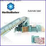 10t / Hr Presionadora de papel corrugado horizontal totalmente automática