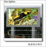 Bajo consumo P25.6 Ventilación pantalla LED de color al aire libre