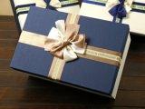熱い販売のニースのBowknotの優雅な長方形チョコレートギフト用の箱、ギフトの包装ボックス