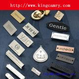 Het kledende Kenteken van de Kleding van het Etiket etiketteert het Etiket van het Embleem van het Etiket van de Schoen van het Etiket van het Metaal van het Etiket van het Embleem van de Handtas van Zakken