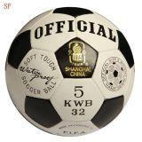 2015熱いHandsewing PUのフットボールのサッカーボール