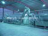 Pomme de terre frites congelées de machines de production de pommes de terre gelée ligne