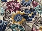 100% Polyester Impression Velvet / Imprimé Velvet Sofa Tissu