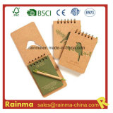 A6 Size Spiral Notebook com Ball Pen