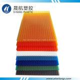 Strato vuoto colorato del tetto del policarbonato con la certificazione dello SGS
