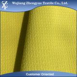 Tela de la ropa del estiramiento de la galleta del telar jacquar del Spandex del poliester de la materia textil