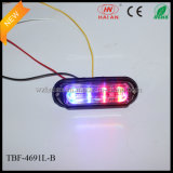 Liner4 Lens에 있는 이중 Colored LED Warning Surface Lights