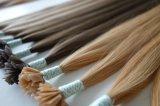 Capelli umani 2017 di Remy dei capelli di punta di estensione piana pre legata dei capelli
