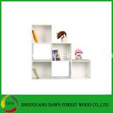 Biblioteca de madeira do preço barato com material de MFC/MDF