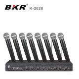 K-2028 Systeem van de Microfoon van acht Kanalen het Handbediende
