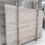 Деревянный белый мрамор с белыми деревянными венами, плиткой и слябом Китая белыми деревянными мраморный