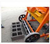 Blocchetto vuoto concreto mobile del lastricatore Qmy4-45 in Africa