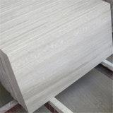 Мрамор горячего сбывания белый деревянный кроет деревянное цену черепицей мрамора вены