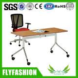 منقول يطوي مكتب تدريب طاولة مكتب مع كرسي تثبيت ([سف-04ف])