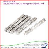 Конец крепежных деталей высокого качества двойной обивает нержавеющую сталь Bolth, цинк, 1d/1.25D/1.5D/2D, DIN938