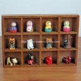 Venda quente caixa de indicador de madeira personalizada do vintage