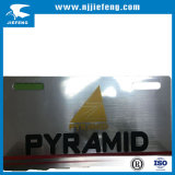 Plaque d'immatriculation OEM OEM Aluminium