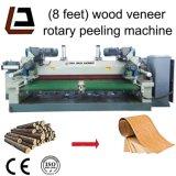 Torno de madeira da casca do folheado do CNC da madeira compensada chinesa