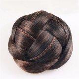 여자 머리 땋는 Chignon 합성 머리 롤빵 연장을%s 새로운 참신 머리 부속품