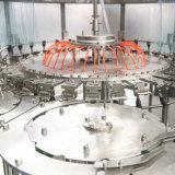 Machine de capsulage de remplissage d'eau minérale avec chargeur de capuchon de ceinture