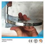 Bride normale d'acier de plaque de l'acier inoxydable Sans1123 Afrique du Sud