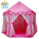 Tenda piegante esterna del castello dei capretti dei bambini della principessa Waterproof Toy Play Game