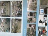 Contre-jour avec les modules en aluminium du système de refroidissement DEL de plaque
