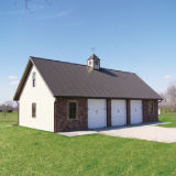 Pre-Проектированная стальная дом фермы с аттестацией Ce