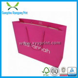 Vente en gros de luxe faite sur commande de sac de transporteur de papier