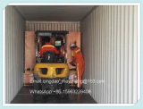 Tipo horizontal estirador frío del caucho de silicón de 75m m que introduce