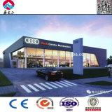 Sala d'esposizione chiara prefabbricata dell'automobile della struttura d'acciaio 4s