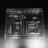 Пластичная коробка PVC/PP/PS косметическая упаковывая
